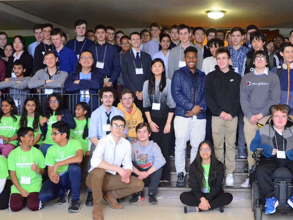 Pictured are EMUiNVENT contestants from the first year of this event (2019) at the convention. (Photo courtesy of Shiri Vivek)