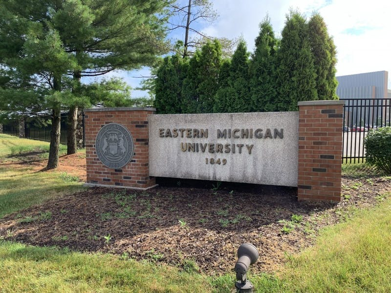 Eastern Michigan University Sign