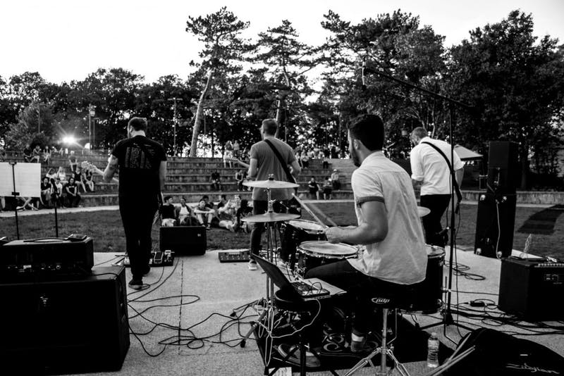 Beta Camp at last year's inaugural EMUsic Fest. Captured by Riss Giammalva.