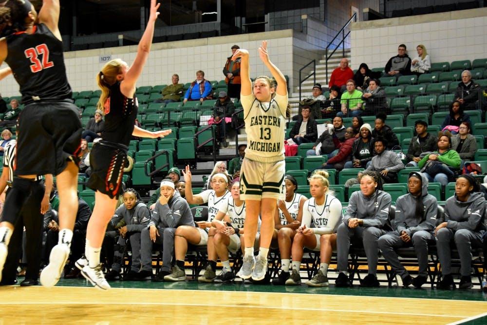 Women's Basketball Defeats Ball State