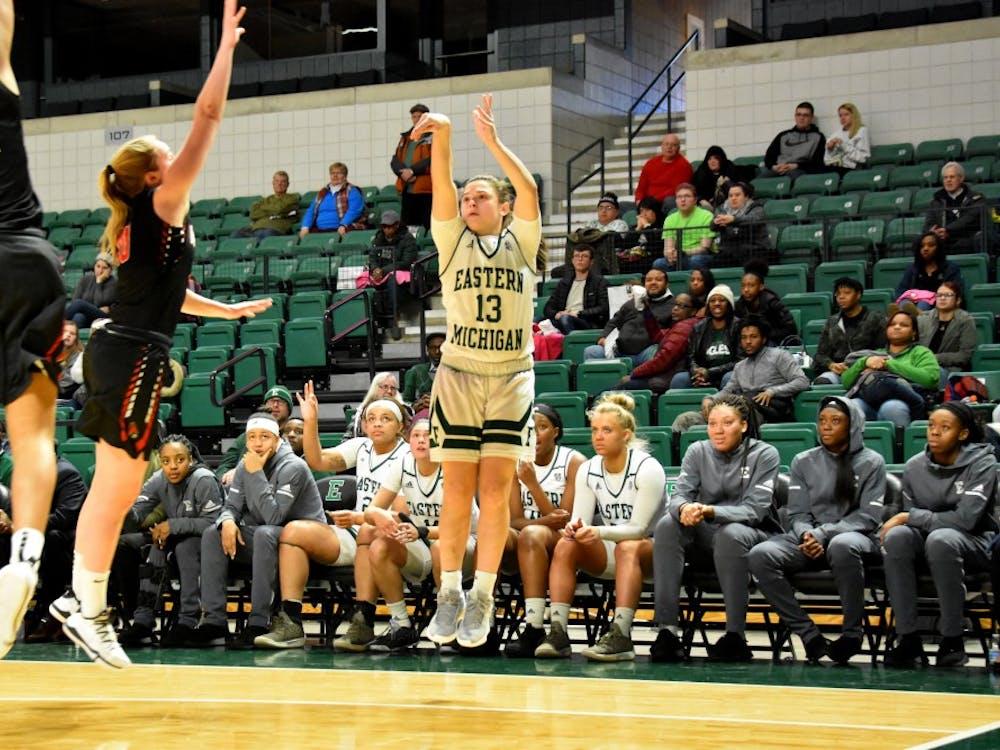 EMU Women's Basketball vs Ball State