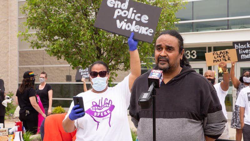 Gallery: Second protest emerges after white Washtenaw County deputy is accused of using excessive force on black woman
