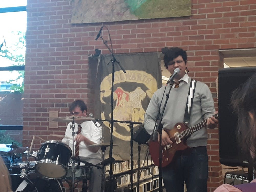 Harry and the Potters at the Ann Arbor Library on June 26