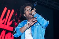 Rap artist Lil Baby headlined the inaugural NVRCH Music Festival. Photo courtesy of Jordan Woods.