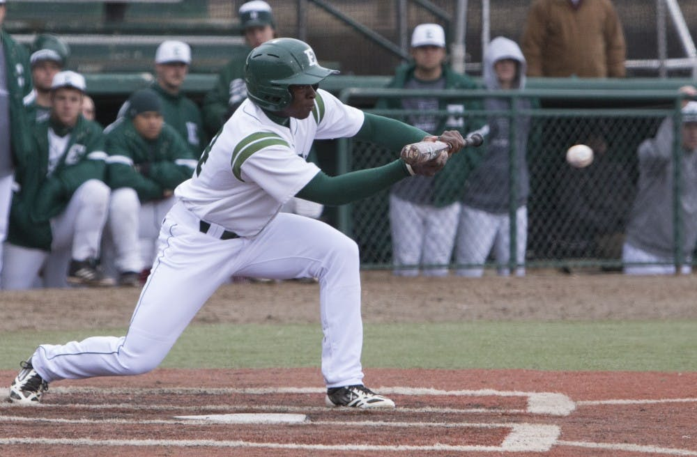 EMU faces Ohio University in series, loses first game but wins last two