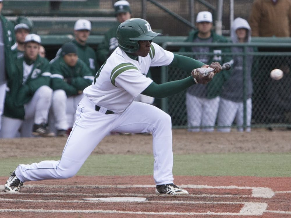 EMU lost one game and won two against Ohio University in its first in-conference series.