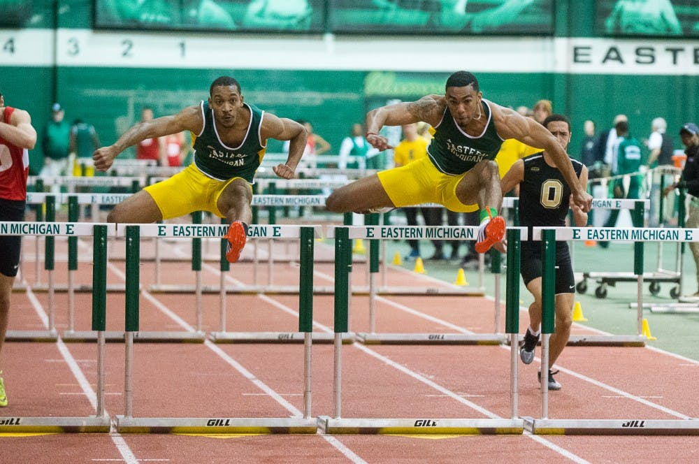 EMU men's track earns eight first place finishes in the Can Am Classic