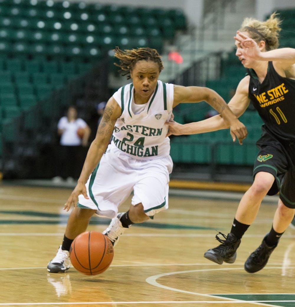 Women's basketball team defeats Wayne State, 85-76