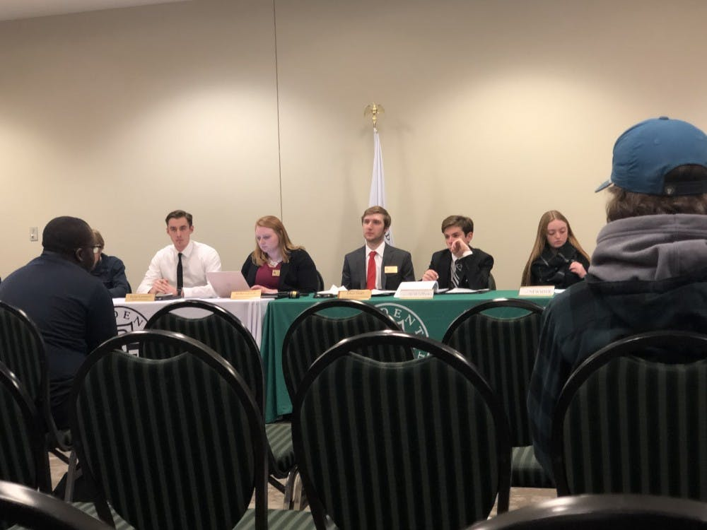 The Student Senate met for their bi-weekly meeting on Tuesday at the Student Center.