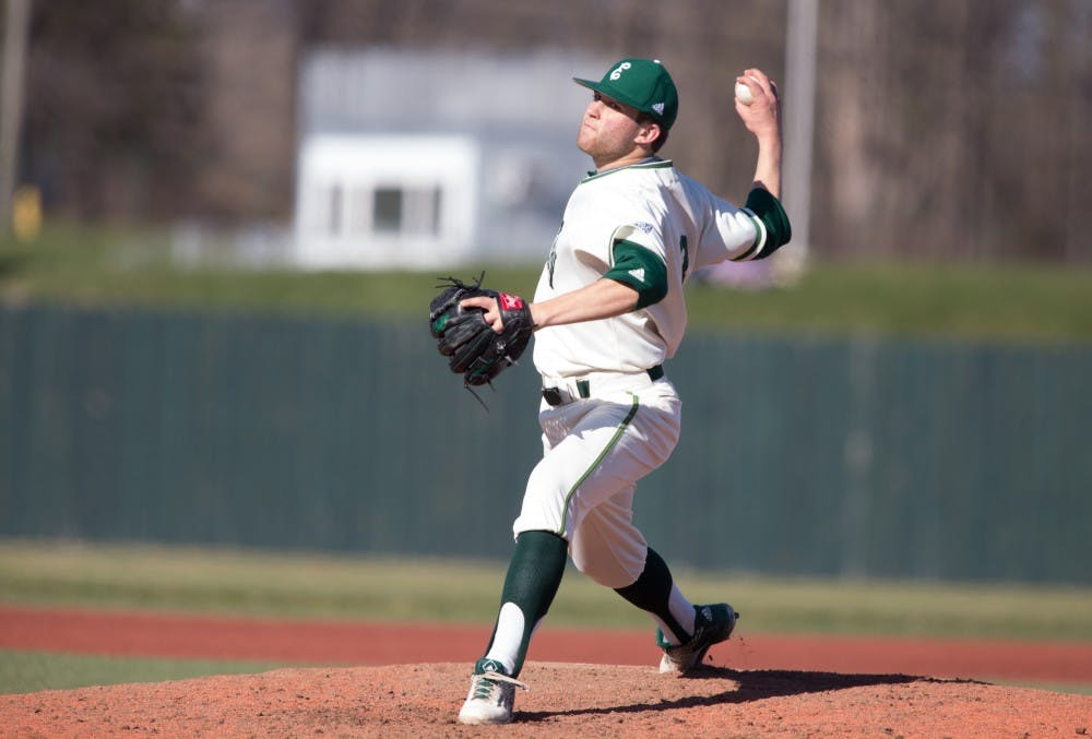 Feldman's pitching powers EMU over Bowling Green