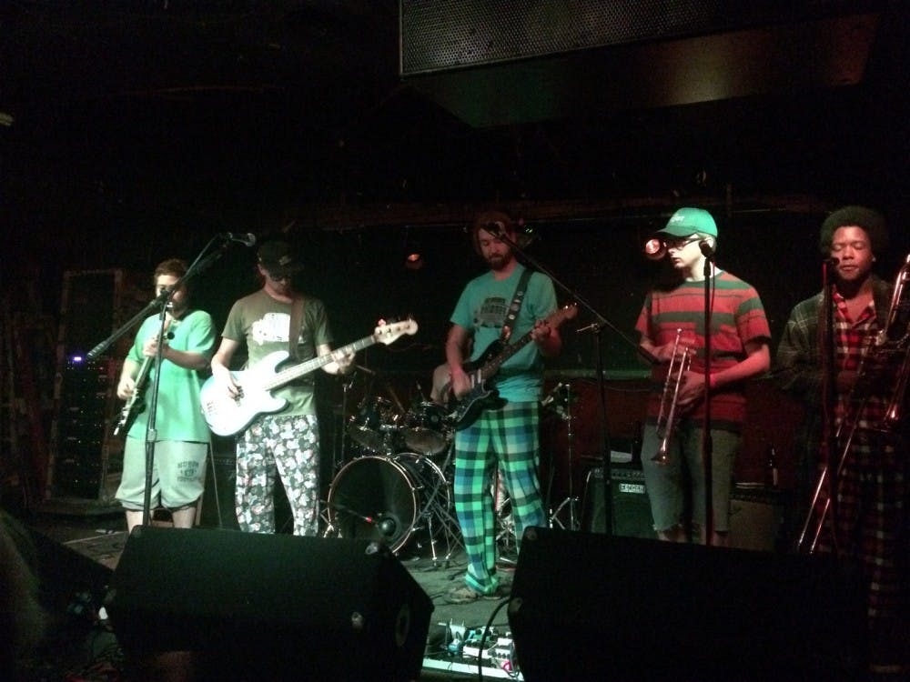 Band, Stormy Chromer, performing at the Blind Pig in Ann Arbor.