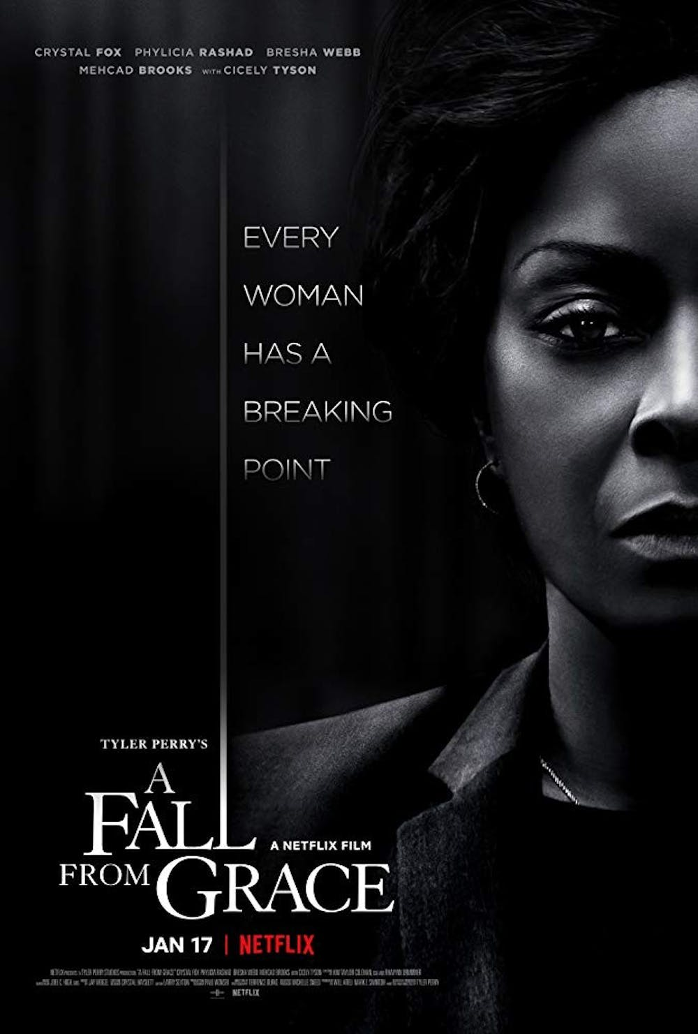 """Review: """"A Fall from Grace"""" delivers the usual Tyler Perry twists"""