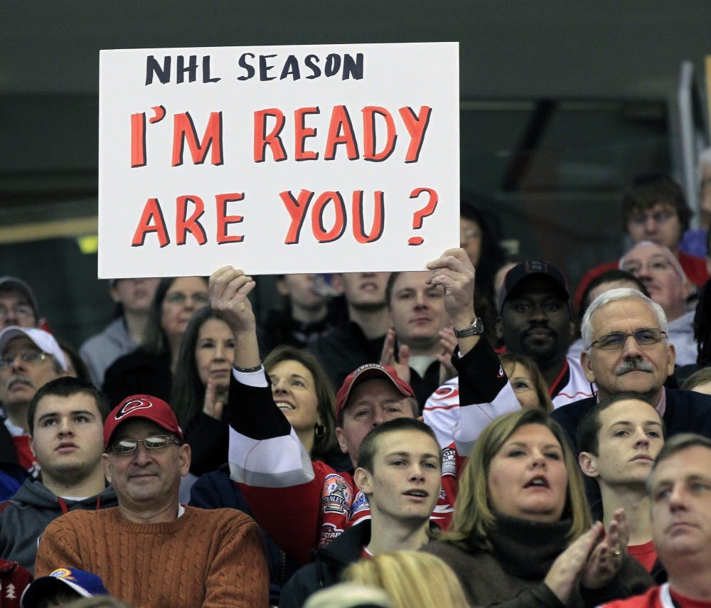 Students eager for season to start as NHL lockout ends