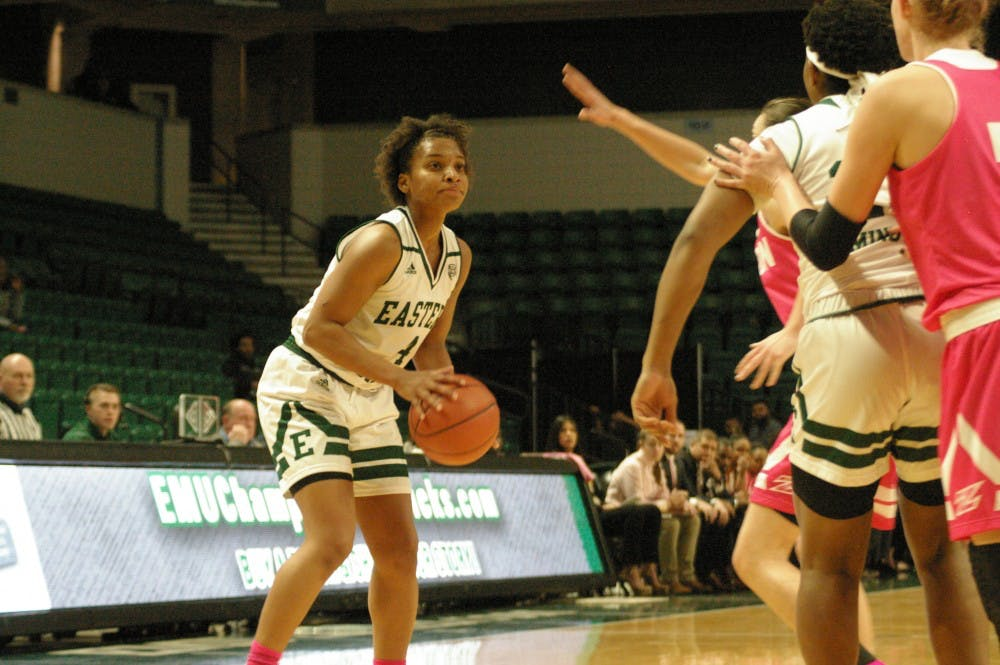 Cassandra Callaway picks up the recruiting coordinator role for EMU women's basketball