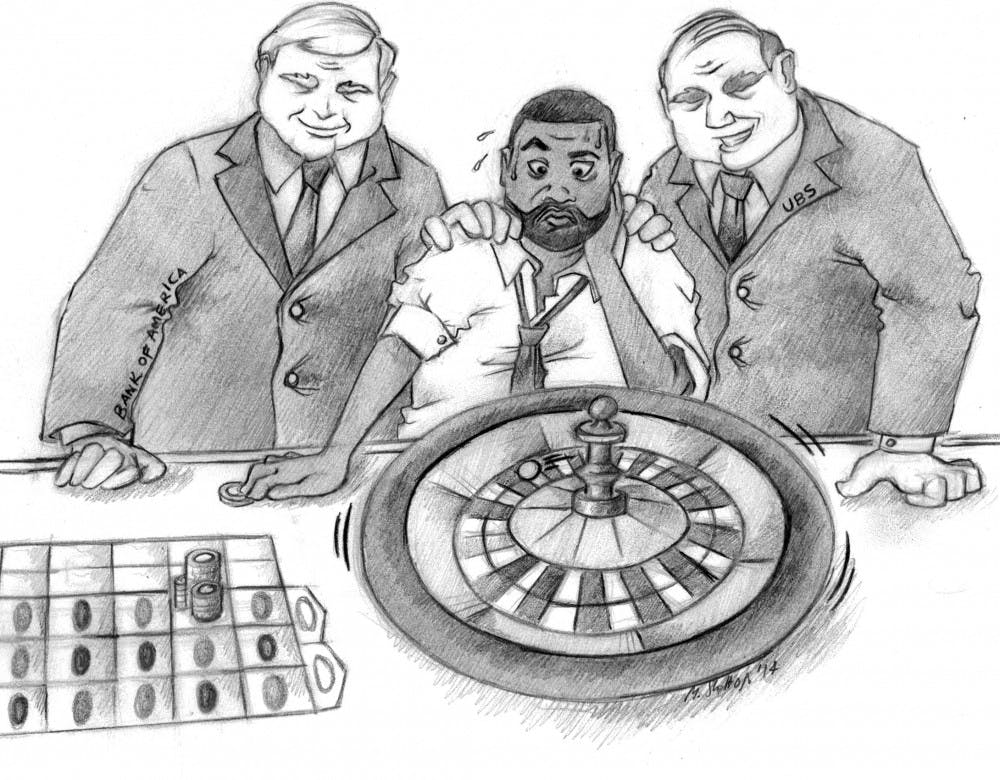 How Kwame Kilpatrick gambled away Detroit's money
