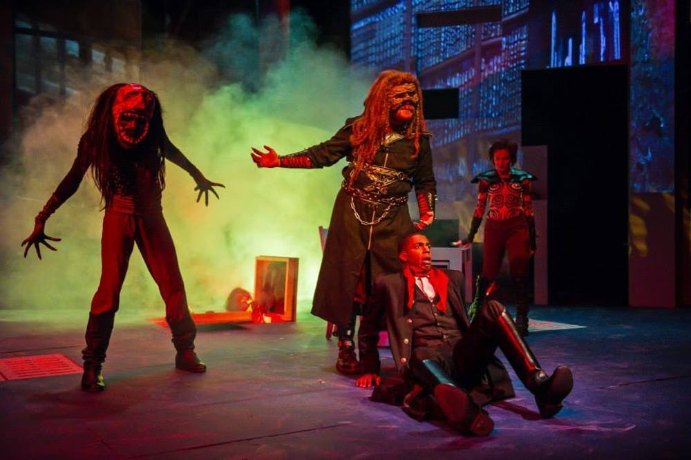Dr. Faustus opens in Quirk Theatre