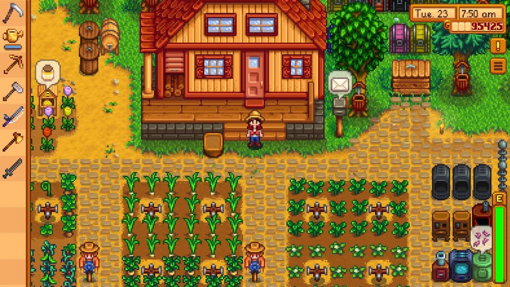 Review Stardew Valley Mobile Is A Great Way To Spend Your Time During The Shelter In Place Order The Eastern Echo