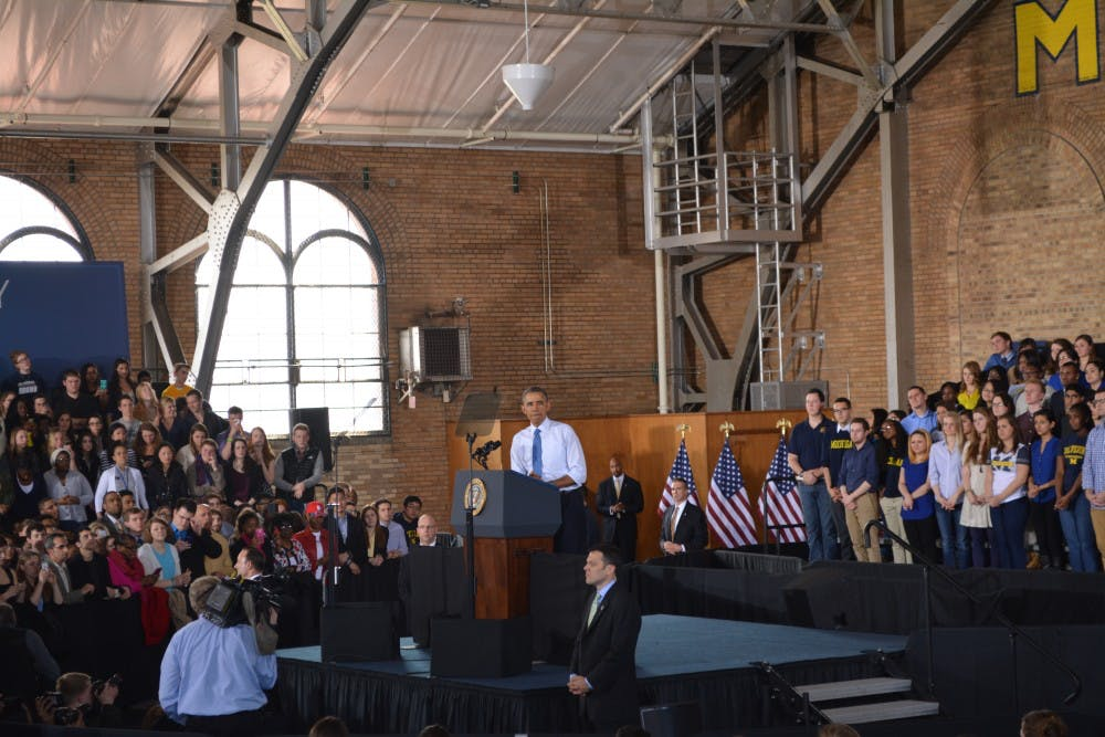 STAFF EDITORIAL: Ypsilanti better served by Obama's visit, not Ann Arbor