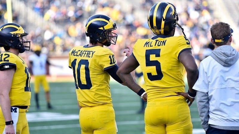 Two of Michigan's up-and-coming quarterbacks. Retrieved from MGoBlog.com
