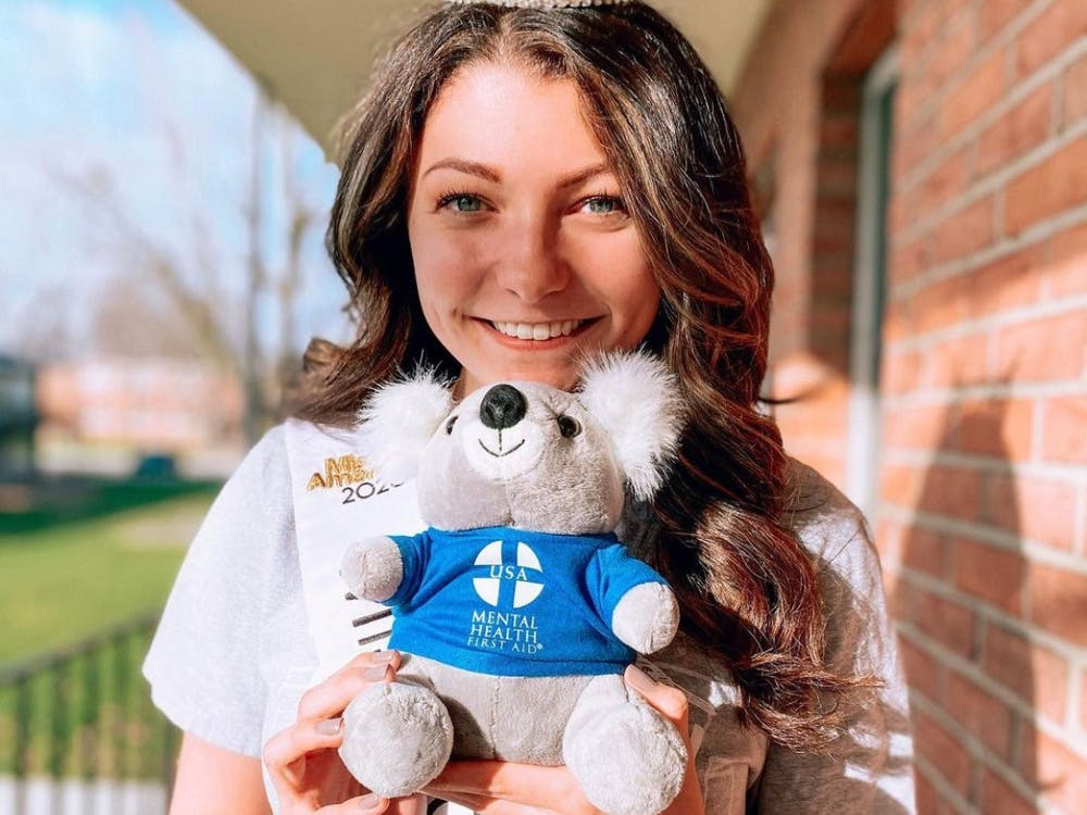 EMU student Hannah Palmer founded a nonprofit organization to help others with their mental health. (Photo courtesy of Sunflower Project)