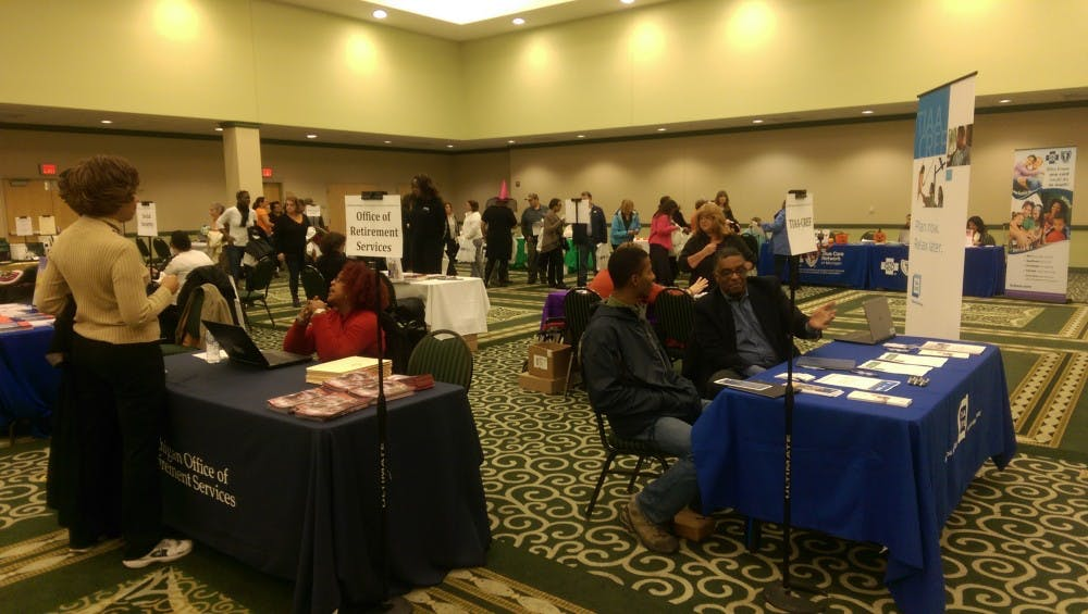 EMU hosts Benefits & Wellness Fair