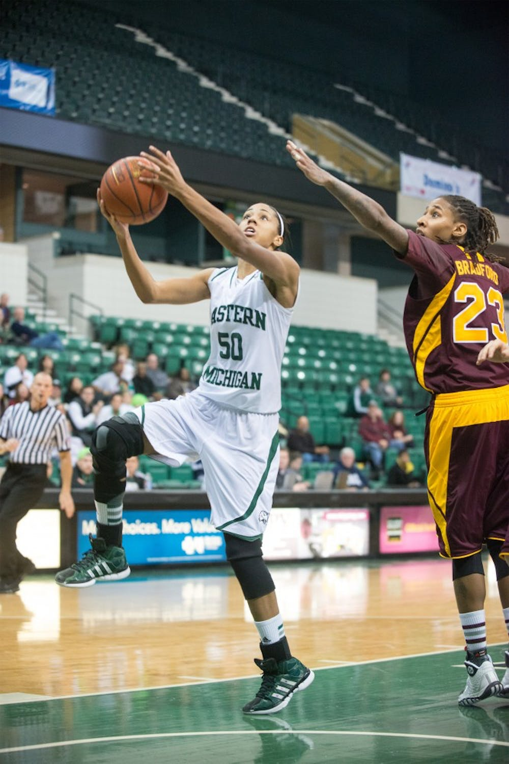 EMU women's basketball clinches no. 8 seed in MAC Tournament