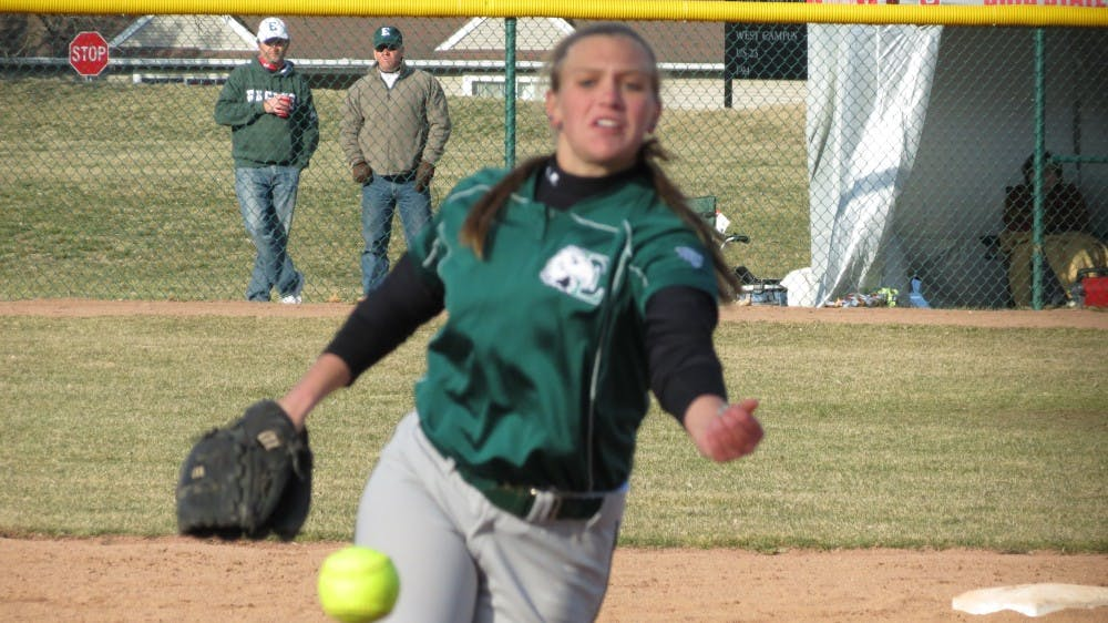 Softball team loses to Youngstown 13-3