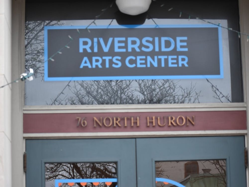 The Riverside Arts Center in downtown Ypsilanti is hosting the exhibit Glyph: The Diversity, Complexity, and Aesthetics of Language for the next month.