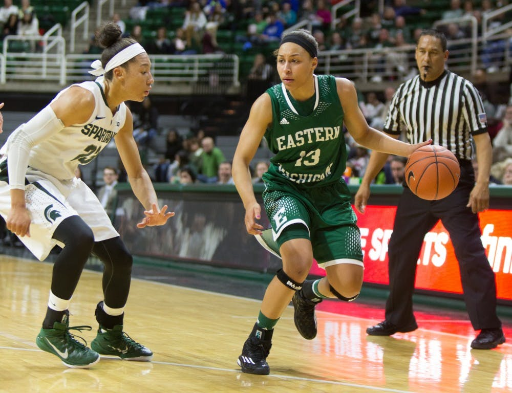Eagles unable to complete comeback, fall to no. 14 Michigan State, 69-61