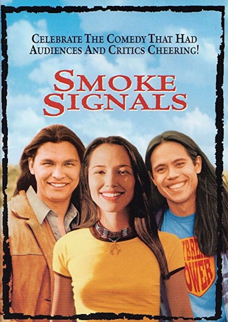 "Eastern Michigan University's Center for Multicultural Affairs presented ""Smoke Signals,"" a film based on the Sherman Alexei novel ""The Lone Ranger and Tonto Fistfight in Heaven,"" Thurs., Nov. 2, at Halle Library."