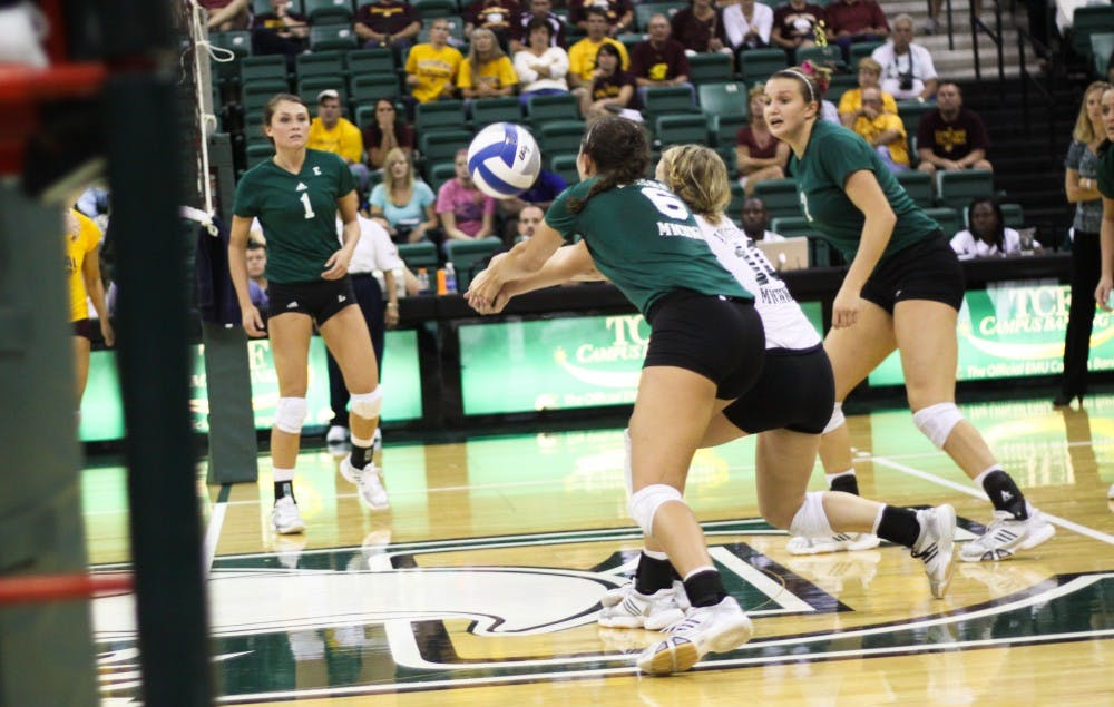 EMU volleyball win brings record to 2-0 in MAC