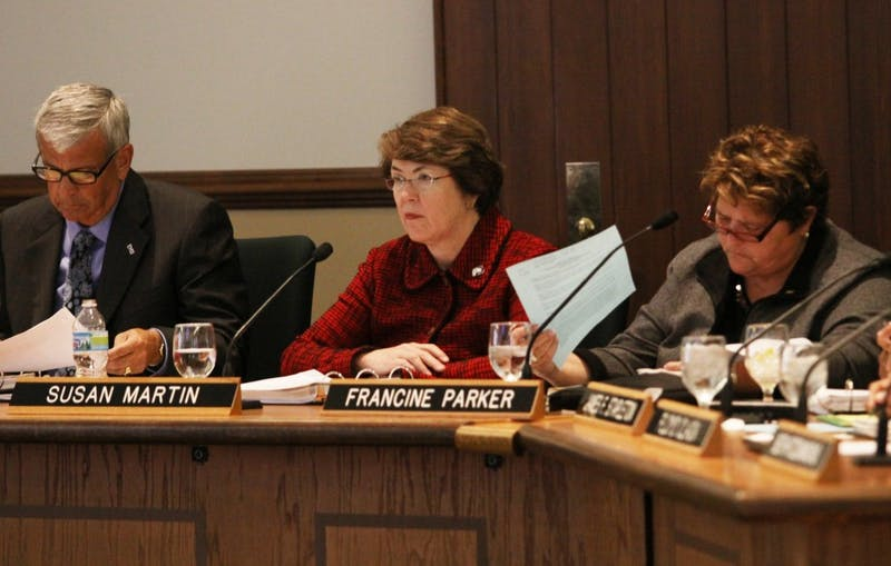Susan Martin said EMU is going to have a difficult time with the 2011-2012 budget after enrollment expectations were not met this academic year in the wake of freezing tution, room and board.