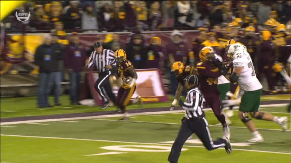 Eagles get bounced by Chippewas 42-30