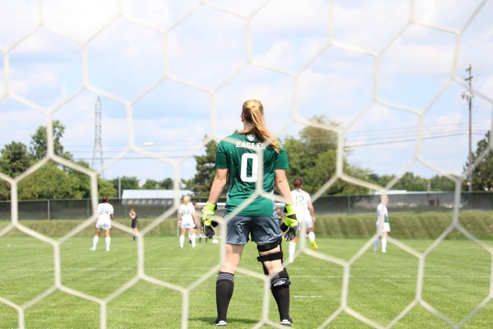 Eastern Michigan Goalkeeper Megan McCabe ready for last challenge