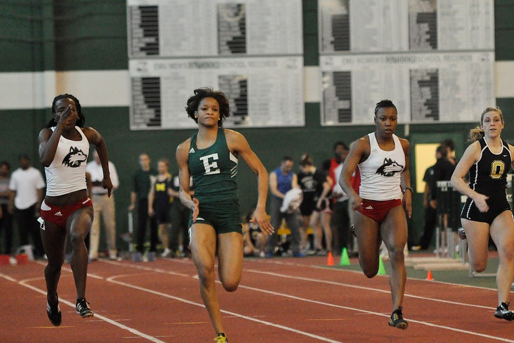 Track off to strong start in first meet