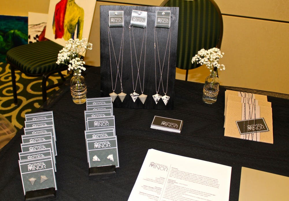 EMU students shows off handcrafted merchandise at portfolio show