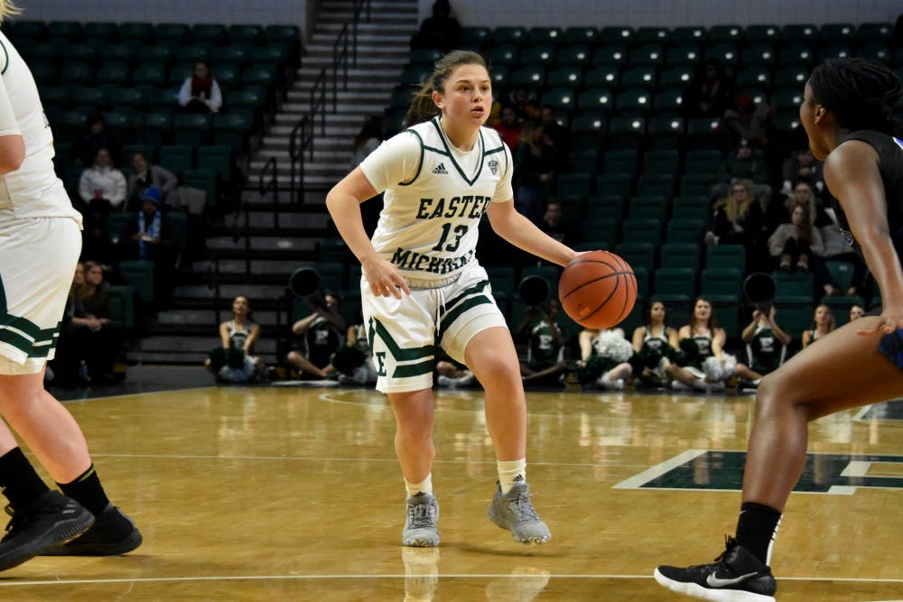 Women's Basketball Defeats Akron, 72-60