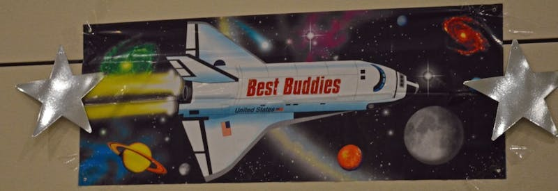 At the 16th annual ball Saturday night, games and activities with an outer space theme were available for the Best Buddies members.