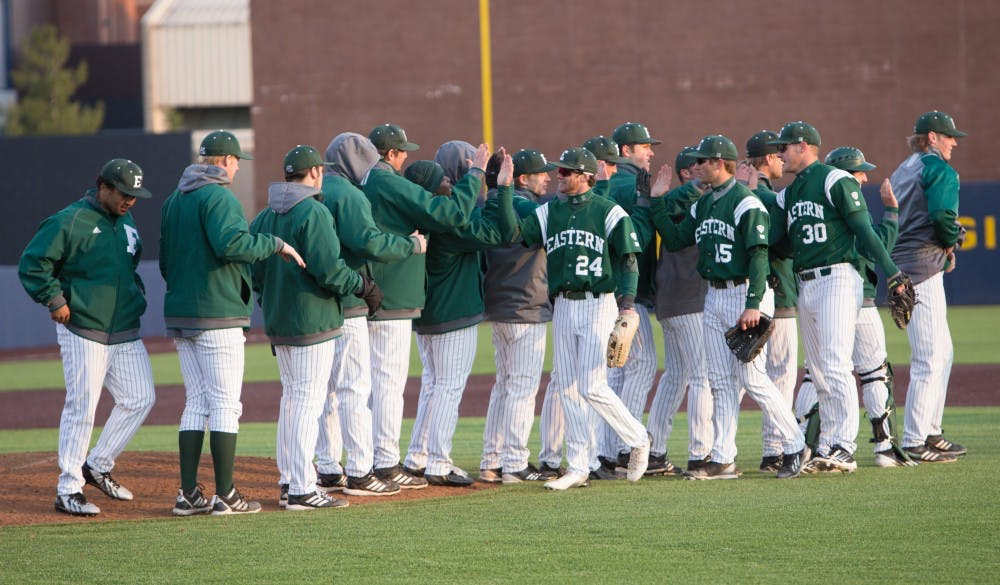 EMU baseball team releases 2015 schedule
