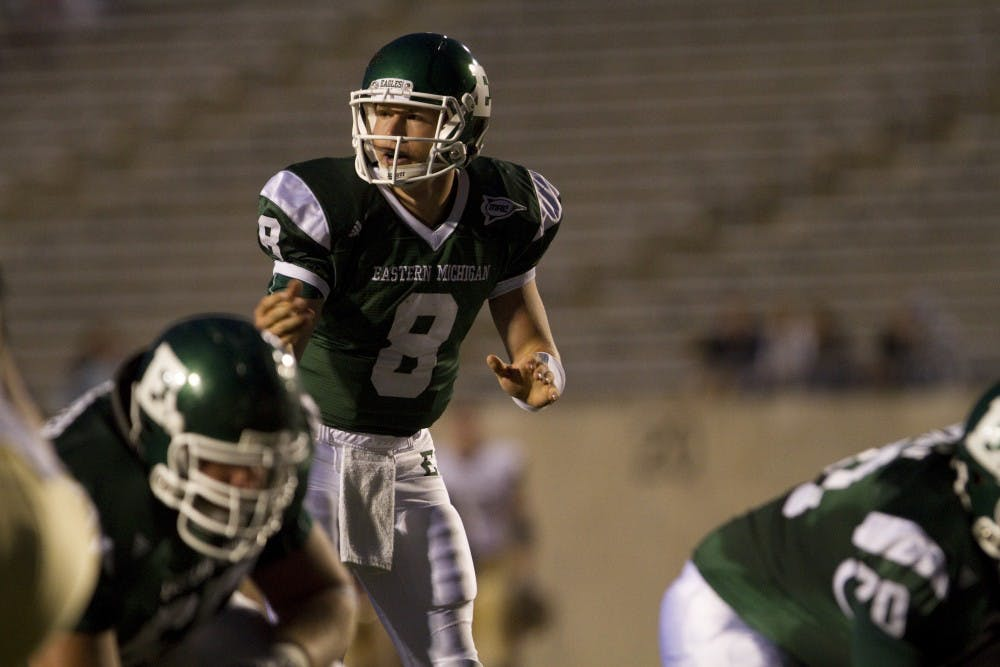 Football's Alex Gillett finishes last season at EMU