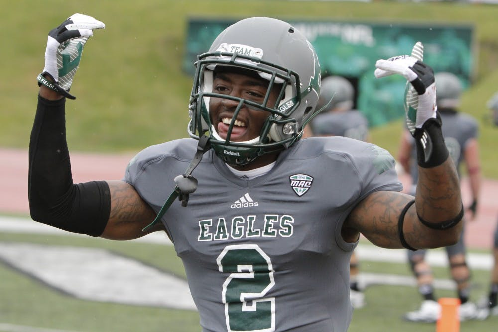 Trial dates set for two men charged with murder of EMU football player