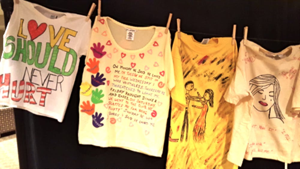 Art exhibit creates awareness for domestic violence