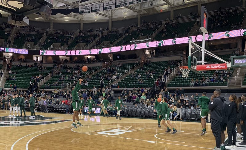 EMU falls to No. 15 Michigan State on the road