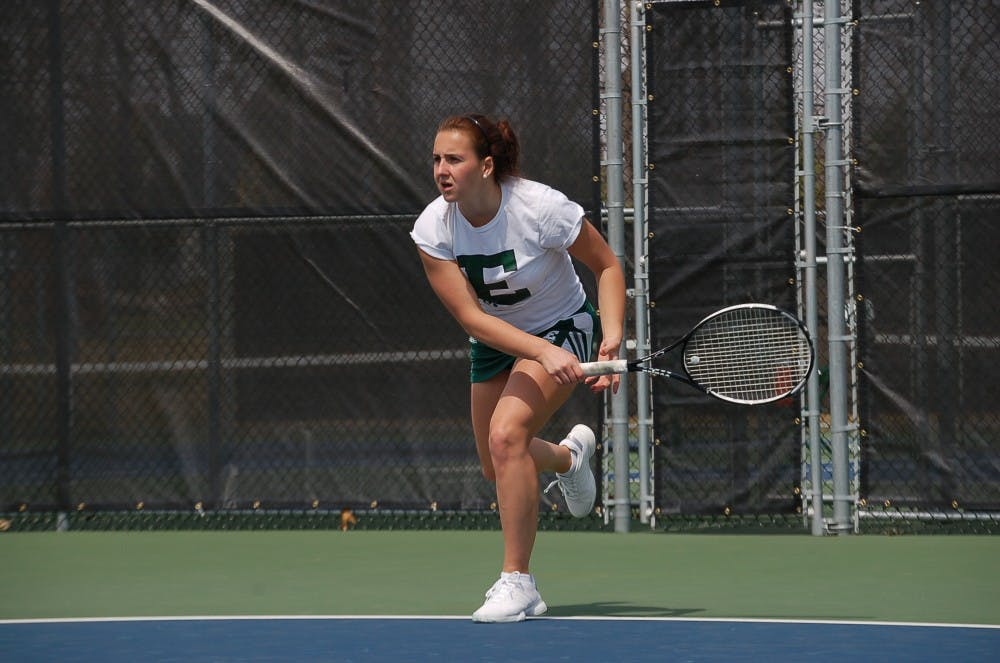 Tennis drops Senior Day match to Ball State