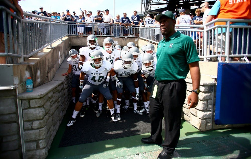 Five things to take away from EMU's 45-7 loss against Penn State