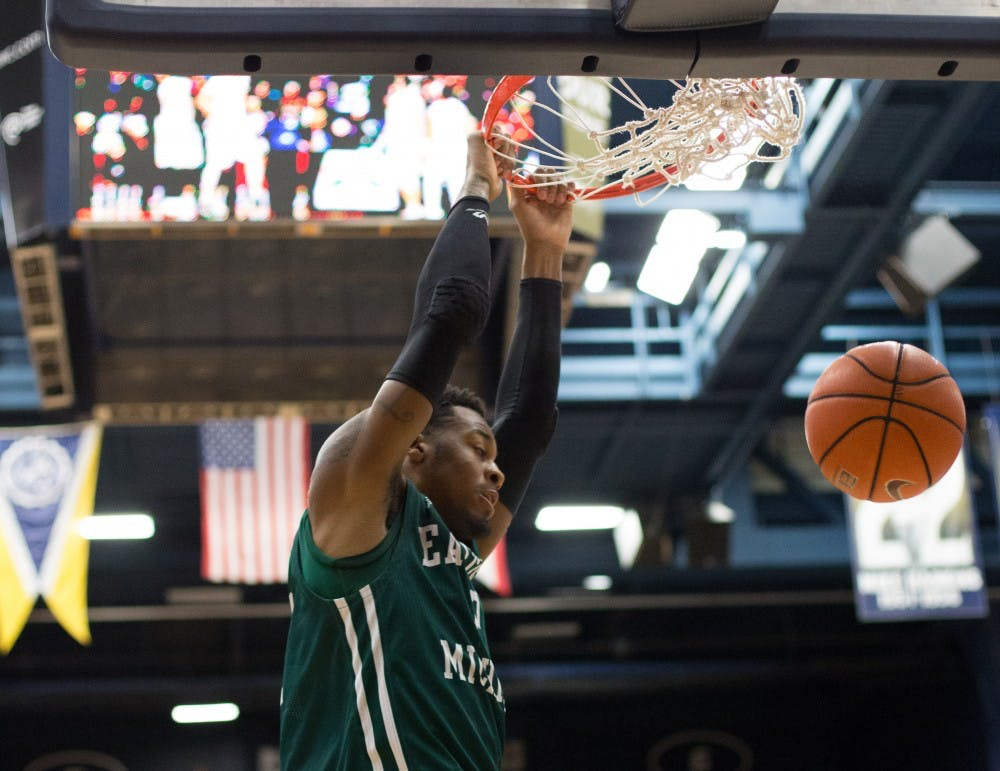 Strong second half propels Akron over EMU