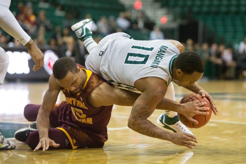 Eagles sweep CMU in season series