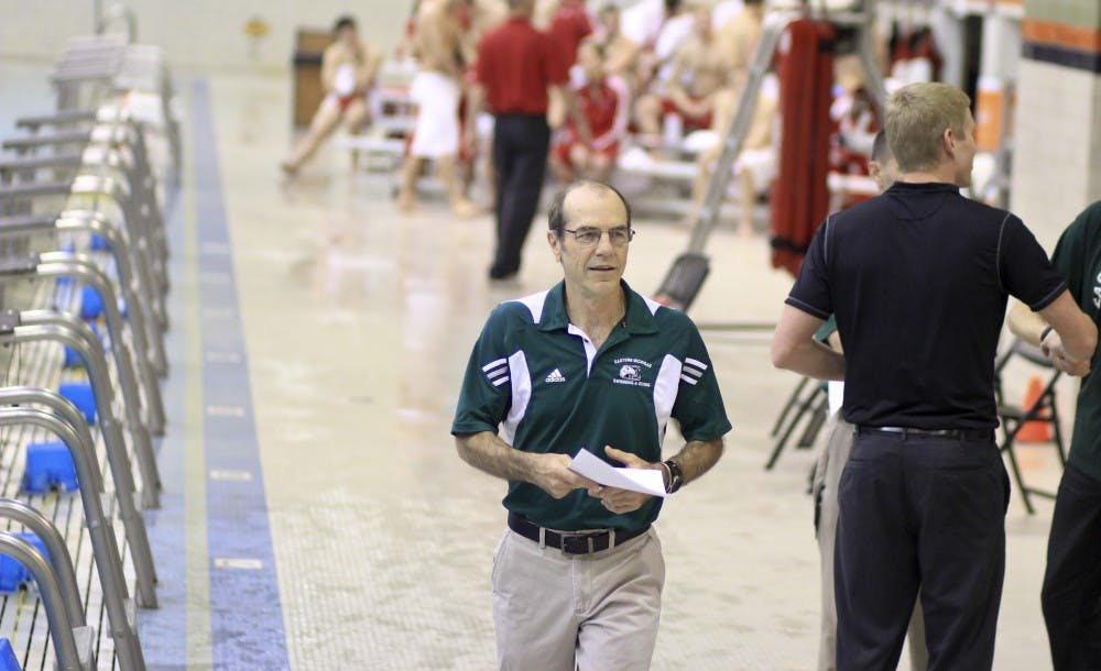 EMU swimming and diving coach retires