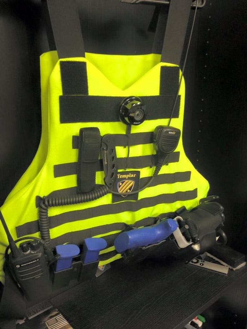A look at the Rapid Responder vest developed by Templar Integrated Security Solutions