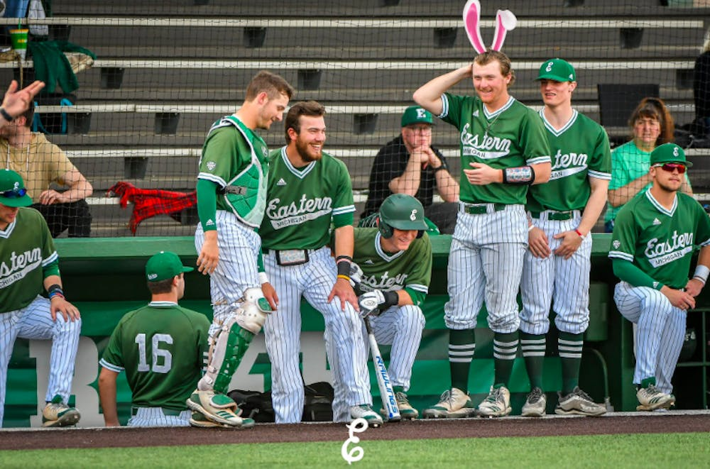 Eastern Michigan Swept by Ohio in Easter Weekend Series